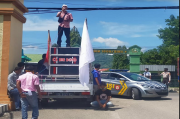 Unjuk Rasa di Mapolres Bima, Massa Desak Bos Kafe Brazil Ditangkap