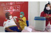 Bupati Mathius Jalani Suntik Vaksin Covid-19 Tahap Kedua