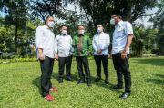 Bahlil Bertemu Tiga Kepala Daerah Surabaya Raya, Ada Apa?
