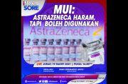 MUI: Astrazeneca Haram, Tapi Boleh Digunakan. Selengkapnya di iNews Sore Jumat Pukul 16.00 WIB