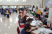 800 Pelayan Publik dan Jurnalis di Bangka Tengah Divaksinasi COVID-19 Kedua