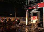 Polisi Selidiki Penyebab Kebakaran Hebat yang Hanguskan Mobil di SPBU Buring
