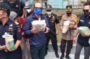 Puluhan Kg Sabu dan Ribuan Butir Ekstasi Selundupan Disita di Pantai Timur Sumatera