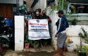 17 Warga Isolasi Sembuh, Akses Jalan Gang yang Ditutup Dibuka Tim Satgas COVID-19