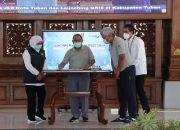 Gubernur Khofifah Launching Pembayaran Uji KIR Non Tunai menggunakan QRIS Bank Jatim