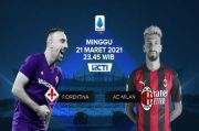 Live Streaming RCTI Plus: Fiorentina vs AC Milan: Pioli Menanti Sihir Ibrahimovic