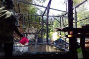 Korsleting Listrik, Rumah Warga Langkaplancar di Pangandaran Terbakar
