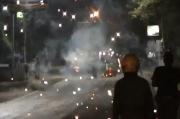 Batu dan Petasan Berhamburan, Tawuran Antarpemuda Kembali Terjadi di Kota Medan