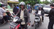 Arogan,Oknum Perangkat Desa Bubarkan Aksi Pembagian Masker Gratis
