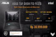 ASUS Goda Gamer dengan TUF Dash F15 (FX516), Laptop Gaming Berbobot 2 Kg