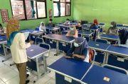 Dimulai Hari Ini, Belajar Tatap Muka di SMPN 2 Bekasi Terapkan Prokes