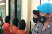 3 Wanita Pengedar Sabu Dibekuk Polisi saat Menunggu Pembeli