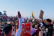 Kekuatan Dalam Solidaritas, Demonstran Myanmar Terinspirasi oleh Hong Kong dan Thailand