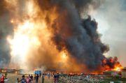 Kebakaran Besar Hancurkan Kamp Pengungsi Rohingya di Bangladesh