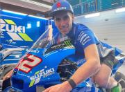 Jelang MotoGP Qatar 2021, Alex Rins Isi Waktu Luang dengan Latihan Motocross