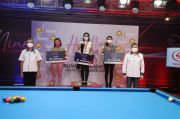 Angeline Ticoalu Juara Turnamen Biliar Hot Nine
