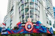 Seniman Indonesia buat Mural Ikonik The Falcon and The Winter Soldier