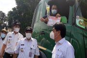 Truk Trailer Dibatasi Melintas di Jalan Plumpang Raya Jakut