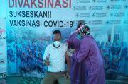 Puluhan Wartawan di Lampung Utara Divaksin COVID-19