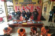 Empat Pelaku Pembacokan Sadis Pasar Rau Dibekuk Polisi