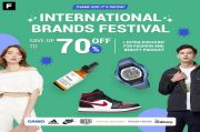 Harga Coret! Promo Diskon 70% International Brand Festival di Aplikasi The F Thing
