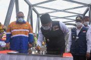 Ridwan Kamil Resmikan Jembatan Cibuni, Akses Warga Sukabumi-Cianjur Kini Makin Mudah