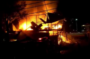Lima Ruko di Kota Tua Kendari Ludes Dilalap Si Jago Merah, Warga Dilanda Kepanikan