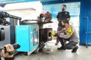 Gunakan Incenerator, BNN Jabar Bakar 7,7 Kilogram Sabu