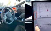 Menggila, Tesla Ganti Tuas Transmisi dengan Layar Sentuh