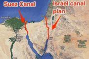 Terungkap, AS Pernah Ingin Buat Jalur Alternatif Terusan Suez Melalui Israel