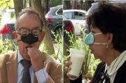 Cegah Terpapar COVID-19 Saat Makan, Peneliti Buat Masker Khusus Hidung