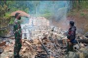 Dua Rumah Warga di Cipongkor Habis Terbakar, 8 Jiwa Terpaksa Mengungsi