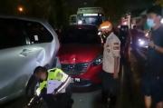 Sleman Gempar, Truk Hilang Kendali Hantam 10 Mobil di Lampu Merah Ring Road Utara