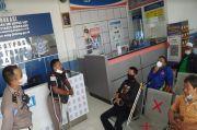 Penyandang Difabel Uji Praktik SIM D di Satlantas Polrestabes Semarang