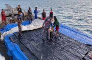 Patroli TNI AL Gagalkan Penyelundupan Ribuan Kardus Rokok Senilai Rp5 Miliar