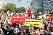 PBB: Masyarakat Myanmar Tidak Butuh Kata-kata, Tapi Aksi Dunia Hentikan Junta Militer
