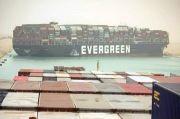 Kapal yang Memblokir Terusan Suez Bergerak Sedikit
