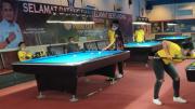 Empat Pebiliar Betarung di Semifinal Turnamen POBSI CUP di Palembang Sore Ini