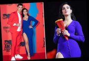 Pakai Dress Biru Ketat, Georgina Rodriguez Pamer Body Goals