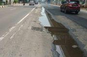 Penambalan Jalan Rusak di Rasuna Said, Bina Marga Akui Aspalnya Cuma Bertahan Seminggu