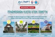 Tingginya Jumah Pendaftar, LTMPT Tambah Kuota UTBK SBMPTN 2021