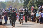 Diserang Jet Militer, 3.000 Rakyat Myanmar Lari ke Thailand