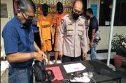 Pelaku Curanmor Spesialis Motor Matic Jaringan Lampung, Dibekuk di Cimahi