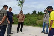 Pembangunan Jalan Beton Sepanjang 1,8 Kilometer di Malili Akhirnya Rampung