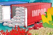 Impor Pangan Sulit Dihentikan