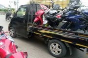 Razia Knalpot Bising, Polrestro Bekasi Angkut 9 Motor Sport