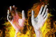Warga Cengkareng Dibakar Hidup-hidup oleh Tetangga