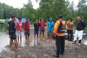 Basarnas Sisir Sungai Cari Warga yang Dilaporkan Diterkam Buaya Saat Cari Kerang