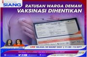 Ratusan Warga Demam, Vaksinasi Dihentikan. Saksikan Selengkapnya di iNews Siang Selasa Pukul 11.00 WIB