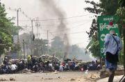 Sudah 510 Tewas sejak Kudeta Myanmar, Demonstran Lakukan Serangan Sampah
